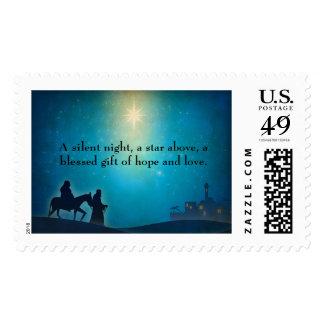 Christmas Star of Bethlehem Postage