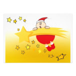 Christmas Star Personalized Announcement