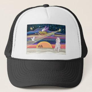 Christmas Star - Poodle (white Standard) - Trucker Hat