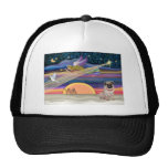 Christmas Star - Pug (fawn) - Mesh Hats