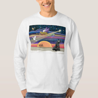 Christmas Star - Scottish Terrier 2B T-Shirt