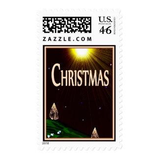 Christmas Star & Sheep Stamps