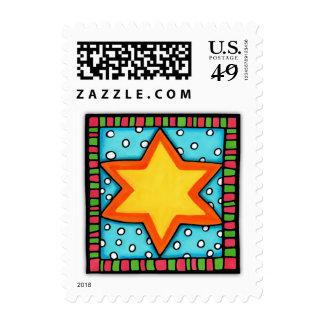 Christmas Star Stamp