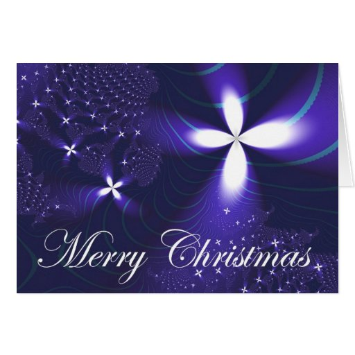 Christmas Star Stationery Note Card
