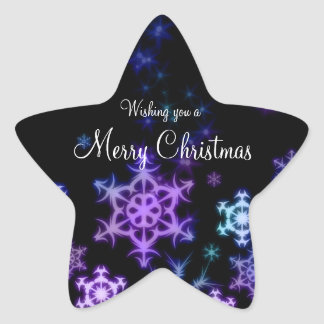 Christmas Star Stickers