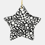 Christmas star with Pünktchen, points spots POINTs Christmas Tree Ornament