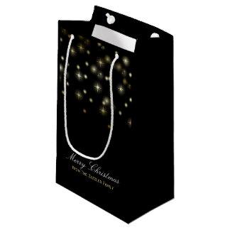 Christmas Stars Festive Small Gift Bag