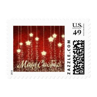 Christmas Stars Merry Christmas 0.49 Postage