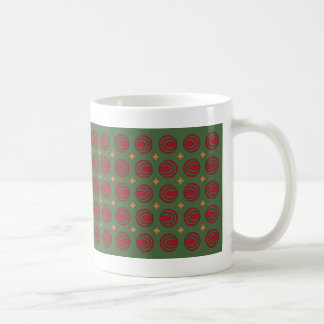Christmas Stars & Oovies Classic White Coffee Mug