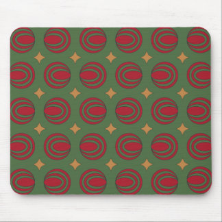 Christmas Stars & Oovles Mouse Pad