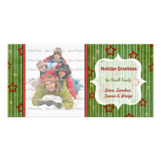 Christmas Stars Photo Card
