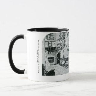 Christmas Stereoview - Vintage Mug