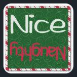 "Christmas Sticker - Naughty or Nice<br><div class=""desc"">Christmas Sticker - Naughty or Nice</div>"