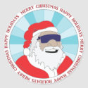 CHRISTMAS STICKERS, BUTTONS,                                        ETC #1 sticker