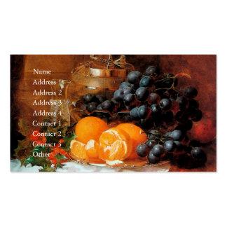 Christmas Still Life by Eloise Harriet Stannard Business Card