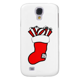 Christmas Stocking Design Galaxy S4 Cover