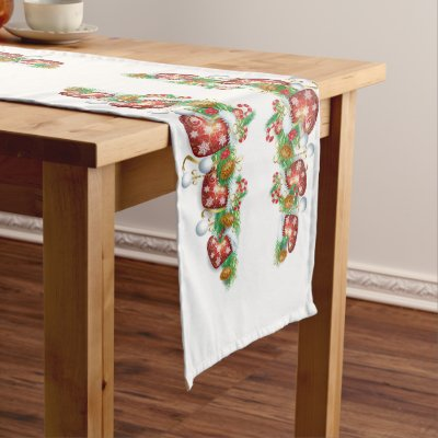 Holiday Candy Christmas Table Runner