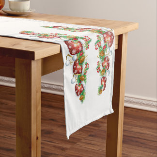 Christmas Stocking Garland Medium Table Runner