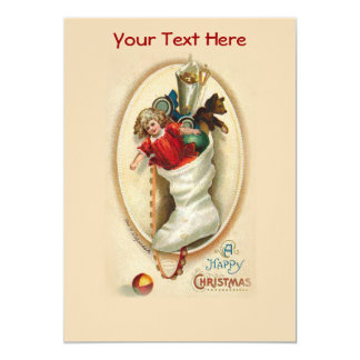Christmas Stocking Gifts Card