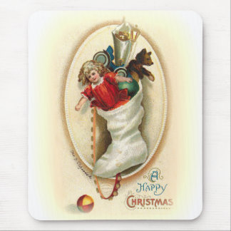 Christmas Stocking Gifts Mouse Pad