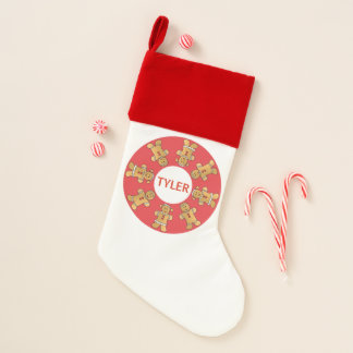 "Christmas Stocking ""Gingerbread Kids"""