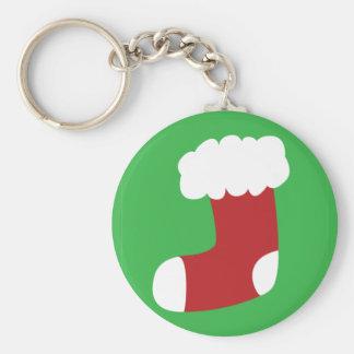 Christmas Stocking Keychain