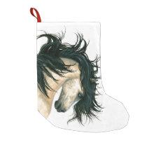 Christmas Stocking Majestic Buckskin Horse Bihrle