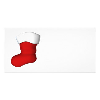 Christmas Stocking Photo Card Template