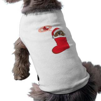 Christmas Stocking Puppy T-Shirt