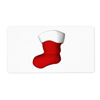 Christmas Stocking Shipping Labels