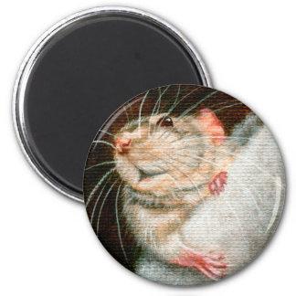 Christmas Stocking Stuffer Mouse Magnet