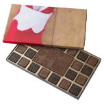 Christmas stocking with engagement ring 45 piece assorted chocolate box
