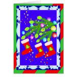 Christmas Stockings Christmas Card