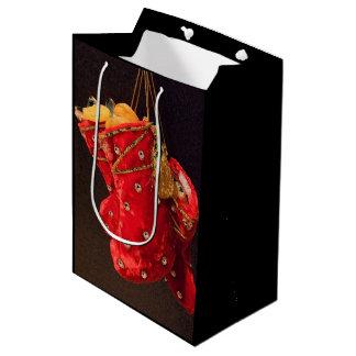 Christmas Stockings Medium Gift Bag