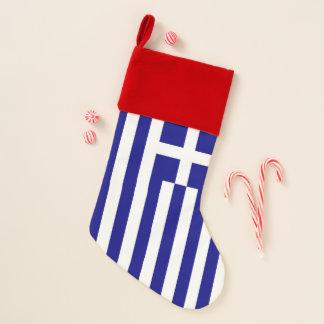 Christmas Stockings Flag of Greece