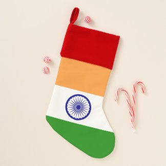 Christmas Stockings Flag of India