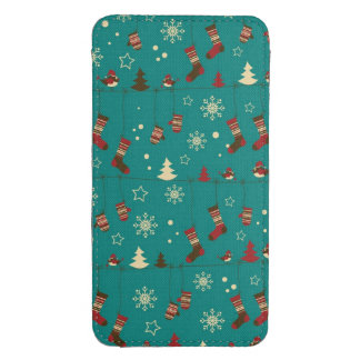 Christmas stockings pattern galaxy s4 pouch