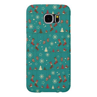 Christmas stockings pattern samsung galaxy s6 cases