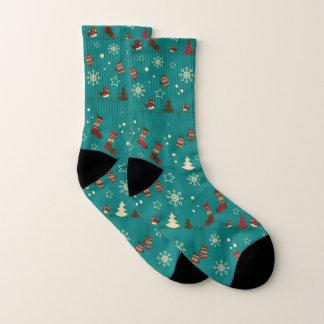 Christmas stockings pattern socks