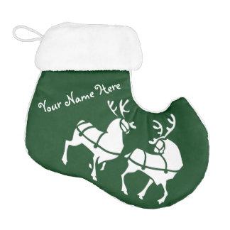 Christmas Stockings Personalized Reindeer Stocking Elf Christmas Stocking