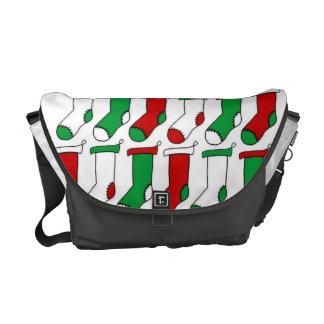 Christmas Stockings Socks Courier Bag