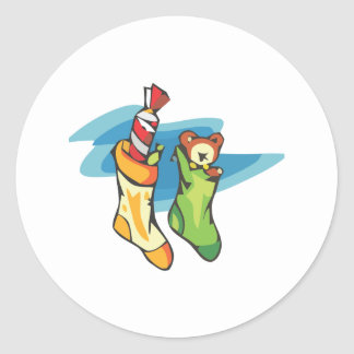 Christmas Stockings Stickers