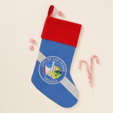 Christmas Stockings with Flag of Las Vegas