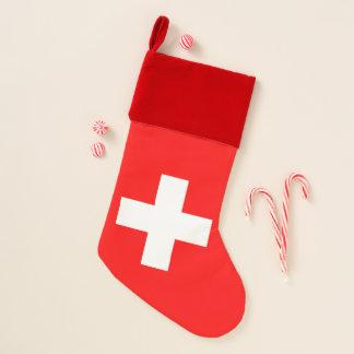 Christmas Stockings with Flag of Switzerland
