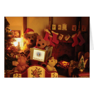Christmas story - card