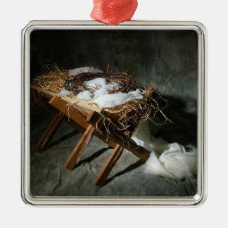 Christmas Story Metaphor Metal Ornament