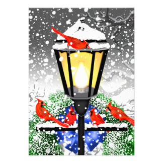 Christmas Streetlamp Card