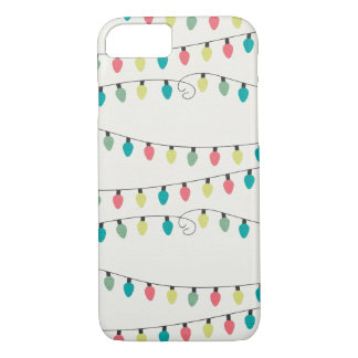 Christmas String of Lights Pattern iPhone 7 Case