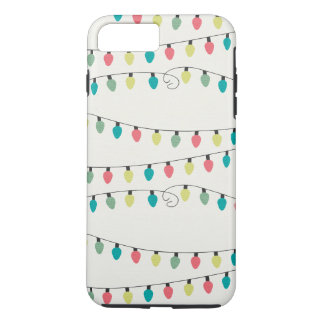 Christmas String of Lights Pattern iPhone 7 Plus Case