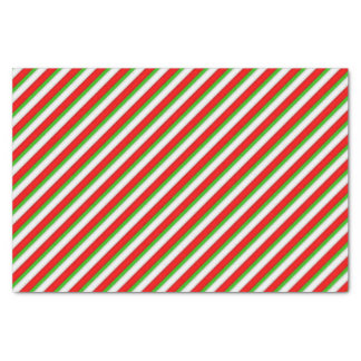 """Christmas Stripe Holiday tissue paper 10"""" X 15"""" Tissue Paper"""